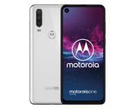 Motorola One Action 4/128GB Dual SIM biały + etui - 511153 - zdjęcie 1