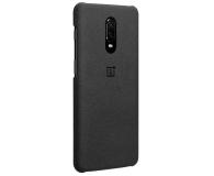 OnePlus Sandstone Protective Case do OnePlus 6t czarny  - 510029 - zdjęcie 2