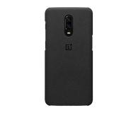 OnePlus Sandstone Protective Case do OnePlus 6t czarny  - 510029 - zdjęcie 1