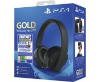 Sony PlayStation 4 Wireless Headset Gold + Fortnite DLC - 510222 - zdjęcie 1