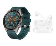 Huawei Watch GT Active zielony + FreeBuds Lite - 512942 - zdjęcie 1