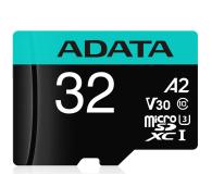 ADATA 32GB microSDHC Premier Pro 100MB/s U3 V30S A2 - 512447 - zdjęcie 1
