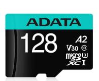 ADATA 128GB microSDXC Premier Pro 100MB/s U3 V30S A2 - 512449 - zdjęcie 1