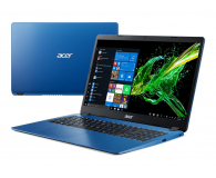 Acer Aspire 3 i5-8265U/12GB/512/Win10 Niebieski - 508479 - zdjęcie 1