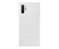 Samsung Leather Cover do Galaxy Note 10+ biały - 508389 - zdjęcie 1