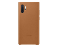 Samsung Leather Cover do Galaxy Note 10+ Camel - 508392 - zdjęcie 1