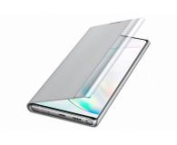 Samsung Clear View Cover do Galaxy Note 10+ srebrny - 508403 - zdjęcie 3