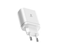 Baseus Ładowarka sieciowa 3x USB, 2.4A (biały) - 509254 - zdjęcie 4