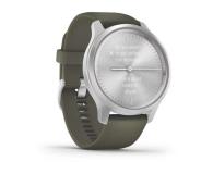 Garmin vivomove 3 Style srebrno - zielony Gorilla Glass - 515087 - zdjęcie 3