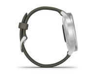 Garmin vivomove 3 Style srebrno - zielony Gorilla Glass - 515087 - zdjęcie 6