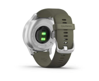 Garmin vivomove 3 Style srebrno - zielony Gorilla Glass - 515087 - zdjęcie 4
