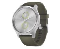Garmin vivomove 3 Style srebrno - zielony Gorilla Glass - 515087 - zdjęcie 1