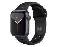 Apple Watch 5 Nike 40/Space Gray/Black Sport GPS - 515914 - zdjęcie 1