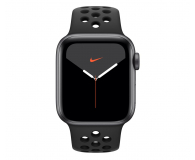Apple Watch 5 Nike 40/Space Gray/Black Sport LTE - 515916 - zdjęcie 2