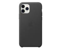 Apple Leather Case do iPhone 11 Pro Black - 514616 - zdjęcie 1