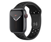 Apple Watch 5 Nike 44/Space Gray/Black Sport LTE - 515920 - zdjęcie 1