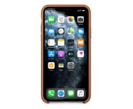 Apple Leather Case do iPhone 11 Pro Max Saddle Brown - 514623 - zdjęcie 3