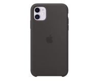 Apple Silicone Case do iPhone 11 Black - 515887 - zdjęcie 1