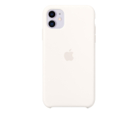 Apple Silicone Case do iPhone 11 White - 515888 - zdjęcie 1