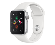 Apple Watch 5 40/Silver Aluminium/White Sport GPS - 515901 - zdjęcie 1