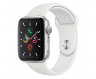 Apple Watch 5 44/Silver Aluminium/White Sport GPS - 515907 - zdjęcie 1
