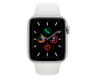 Apple Watch 5 44/Silver Aluminium/White Sport GPS - 515907 - zdjęcie 2