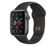 Apple Watch 5 40/Space Gray Aluminium/Black Sport GPS - 515903 - zdjęcie 1