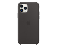 Apple Silicone Case do iPhone 11 Pro Black  - 514606 - zdjęcie 1