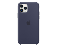 Apple Silicone Case do iPhone 11 Pro Midnight Blue - 514608 - zdjęcie 1