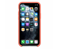 Apple Silicone Case do iPhone 11 Pro Orange - 514644 - zdjęcie 3
