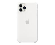 Apple Silicone Case do iPhone 11 Pro White - 514607 - zdjęcie 1