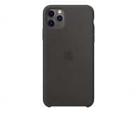 Apple Silicone Case do iPhone 11 Pro Max Black - 514610 - zdjęcie 1