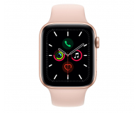 Apple Watch 5 44/Gold Aluminium/Pink Sport LTE - 515911 - zdjęcie 2