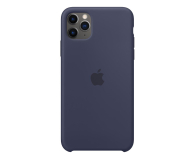 Apple Silicone Case do iPhone 11 Pro Max Midnight Blue - 514612 - zdjęcie 1