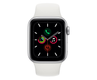Apple Watch 5 40/Silver Aluminium/White Sport LTE - 515904 - zdjęcie 2