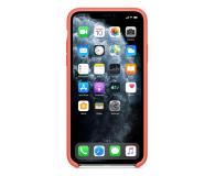 Apple Silicone Case do iPhone 11 Pro Max Orange - 514647 - zdjęcie 3