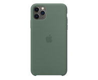 Apple Silicone Case do iPhone 11 Pro Max Pine Green - 514641 - zdjęcie 1