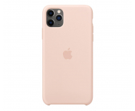 Apple Silicone Case do iPhone 11 Pro Max Pink Sand - 514636 - zdjęcie 1