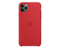 Apple Silicone Case do iPhone 11 Pro Max (PRODUCT)RED - 514613 - zdjęcie 1