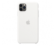 Apple Silicone Case do iPhone 11 Pro Max White - 514611 - zdjęcie 1