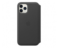 Apple Leather Folio do iPhone 11 Pro Black - 514624 - zdjęcie 1