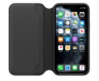 Apple Leather Folio do iPhone 11 Pro Black - 514624 - zdjęcie 3