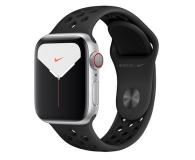Apple Watch 5 Nike 40/Silver/Black Sport LTE - 515915 - zdjęcie 1