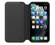 Apple Leather Folio do iPhone 11 Pro Max Black - 514629 - zdjęcie 3