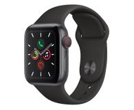 Apple Watch 5 40/Space Gray Aluminium/Black Sport LTE - 515906 - zdjęcie 1