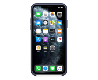 Apple Silicone Case do iPhone 11 Pro Max Midnight Blue - 514612 - zdjęcie 3