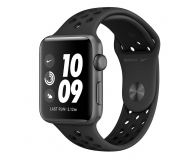 Apple Watch 3 Nike+ 42/Space Gray/Black Sport GPS - 503483 - zdjęcie 1