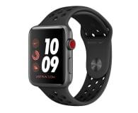 Apple Watch 3 Nike+ 42/Space Gray/Black Sport LTE - 516117 - zdjęcie 1