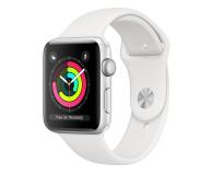 Apple Watch 3 42/Silver/White Sport GPS - 516120 - zdjęcie 1