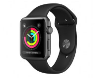 Apple Watch 3 42/Space Gray/Black Sport GPS - 516123 - zdjęcie 1